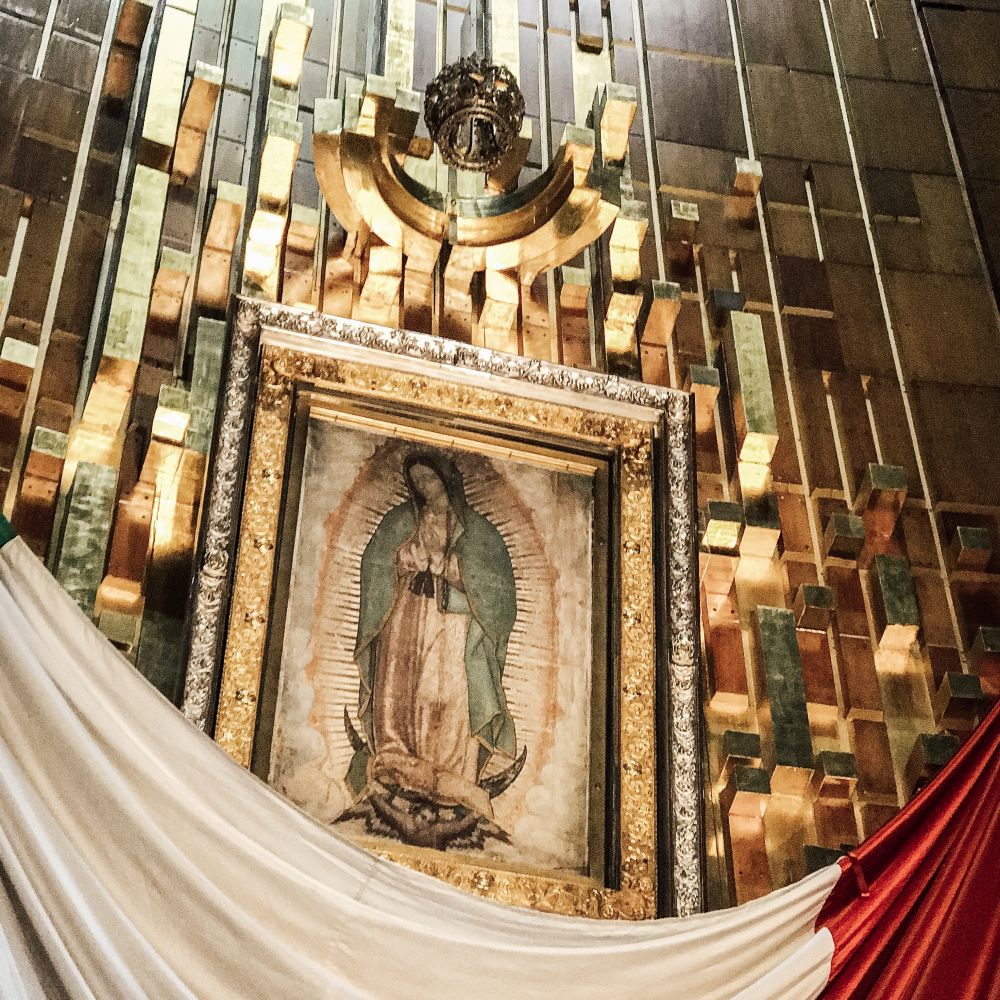 Basilica of Our Lady of Guadalupe - Tilma